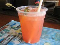Paradise Punch - pool bar menu