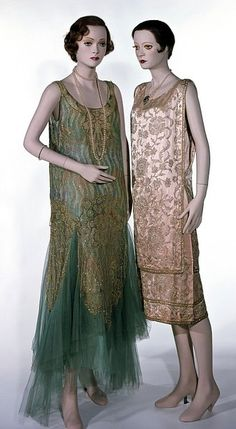 Stalking the Belle Époque: History's Runway: The Worth Evening Dress and Slip, 1928-9