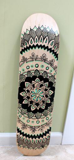 I love your art hon make me a work of art on a less then ordinary canvas like a blank skateboard deck :)