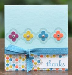 A Stampin' Up! Homemade Greeting Cards, Greeting Cards Handmade, Homemade Cards, Scrapbook Paper Crafts, Scrapbook Cards, Scrapbooking, Paper Cards, Diy Cards, Cardmaking And Papercraft