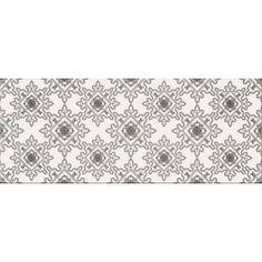 Dekor Opoczno Black&White pattern e 20x50