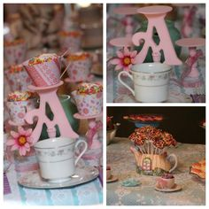 Tea Party Birthday Ideas and Cloud Cookie Recipe
