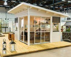 Studio Shed, Studio Build, Garden Studio, Backyard Office, Backyard Retreat, Backyard Patio, Outdoor Sheds, Outdoor Landscaping, Roof Design