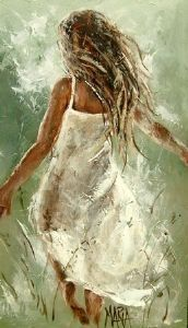 Maria Magdalena Oosthuizen - Run Away | Contemporary Art Art Painting
