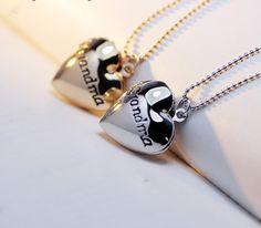 Grandma Heart Locket Necklace