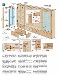 #273 Pegboard Tool Cabinet Plans - Workshop Solutions