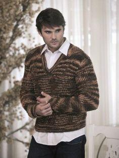 receita colete masculino tricot - Pesquisa Google