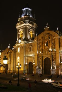 Basilica Cathedral of Lima , Peru - By Marlene Corte