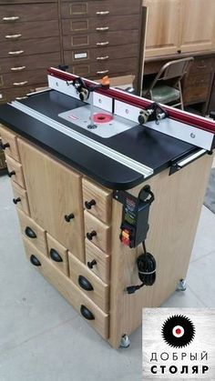 Woodworking jigs router diy projects 29 ideas for 2019 Router Diy, Woodworking Router Table, Router Table Plans, Woodworking Workshop, Woodworking Crafts, Diy Router Table, Woodworking Videos, Woodworking Store, Woodworking Machinery