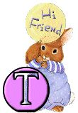 toutlalphabet2 - Page 1463 Alphabet, Creations, Fictional Characters, Bunnies, Alpha Bet, Fantasy Characters