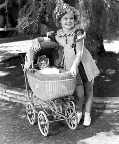 Shirley Temple...definitely, she was a little star!