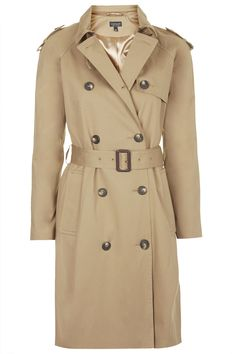 Cotton Trench #Coat by Topshop - Found on HeartThis.com @HeartThis | See item http://www.heartthis.com/product/480641916067908654?cid=pinterest