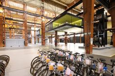 Warehouse adapted for collaborative innovation : TreeHugger