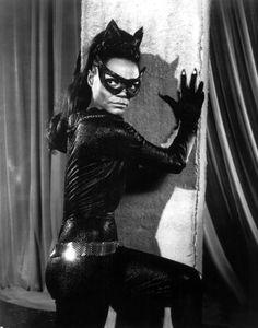 "Eartha Kitt as ""Catwoman"""