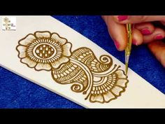 Associated with auspicious occasions, these creative and simple mehndi design ideas will help you choose the best one for any upcoming celebratory event. Latest Arabic Mehndi Designs, Basic Mehndi Designs, Back Hand Mehndi Designs, Mehndi Designs For Beginners, Mehndi Designs For Girls, Mehndi Designs For Fingers, Beautiful Henna Designs, Fingers Design, Henna Tattoo Designs