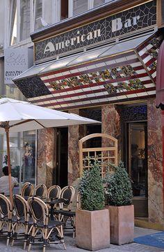 """L'American Bar""  Vienna, Austria"