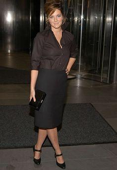 Mode pour les rondes - Drew Barrymore - Stars photos: femme grosse, ronde -  star pulpeuse
