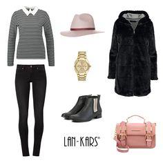 Krótkie botki Lan-Kars idealne do eleganckiej zimowej stylizacji.