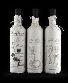 Sleeves Doodled Bottle Sleeves - Filirea Gi Wine Packaging Illustrates the Process of Vino Preparation (GALLERY)Wine (disambiguation) Wine is an alcoholic beverage. Wine may also refer to: Bottle Packaging, Pretty Packaging, Brand Packaging, Design Packaging, Product Packaging, Organic Packaging, Coffee Packaging, Packaging Ideas, Branding Design