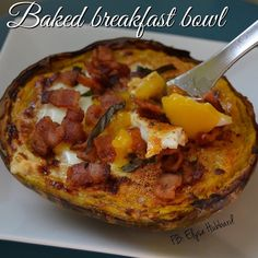 ⭐️Not all bacon is created equal either ...this is sugar free uncured Pedersons Farms bacon ...so good! ➖➖➖➖➖To make your own just bake 1/2 of one small acorn squash✅Once it's done crack 1 egg in the middle and place it back in the oven to broil✅Top with 1 slice of uncured bacon and a little fresh basil ✅oh and mine has @flavorgod everything seasoning on it as well!  It was perfect! https://www.facebook.com/TeamJERF