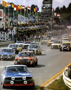 24 h Tourenwagen Europameisterschaft, Spa-Francorchamps, 24.07.1971