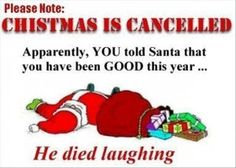 Christmas Is Cancelled - christmas pictures christmas humor christmas jokes christmas cartoons xmas pictures xmas humor xmas jokes xmas cartoons Funny Christmas Cartoons, Funny Christmas Wishes, Funny Christmas Pictures, Naughty Christmas, Christmas Messages, Funny Xmas, Christmas Quotes, Christmas Humor, Funny Pictures