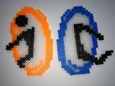 Portal Magnets perler beads
