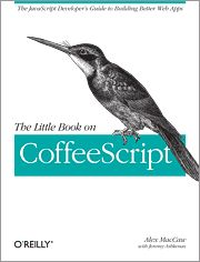 Reference book on CoffeeScript, a new scripting language which is based off of, and compiles to, JavaScript. It is a simpler form of JavaScript, with syntax and feature implementation that is inspired by both Ruby and Python.