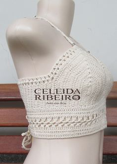 72 Fantastiche Immagini Su Top All Uncinetto Crochet Bikini