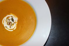 Carrot soup with ginger Mrkvová polévka se zázvorem Carrot Soup, Thai Red Curry, Carrots, Ethnic Recipes, Food, Essen, Carrot, Meals, Yemek