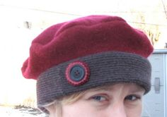 Resweater: Tutorial Tuesday - recycled wool berets & hats