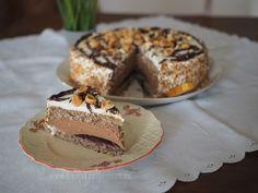 Nuss-Nougat-Torte {ohne Mehl}   KleineLoeffelHase Nougat Torte, Doughnut, Cheesecake, Pie, Baking, Desserts, Food, Google, Biscuit