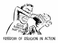 Freedom of Religion in action
