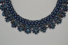 """""""Blanca""""-halsketting, gemaakt door (en in de workshops van) Crea Nancy"""