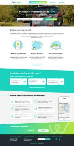 #webdesign #website #startup #ecologie #recycling #bordeaux #agence #web #green #gowaste #ecology #trash #community