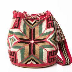 WAYUU TRIBE | AUTHENTIC HANDMADE WAYUU MOCHILA BAGS starting at $108.00 www.wayuutribe.com