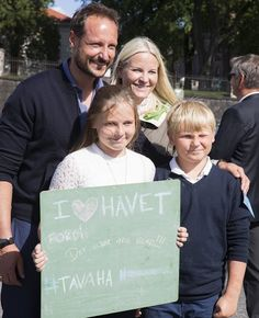Prince Haakon and Princess Mette Marit visited Passion for Ocean Festival in…