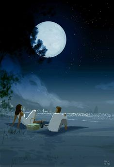 Mid Night Pic Nic by Pascal Campion