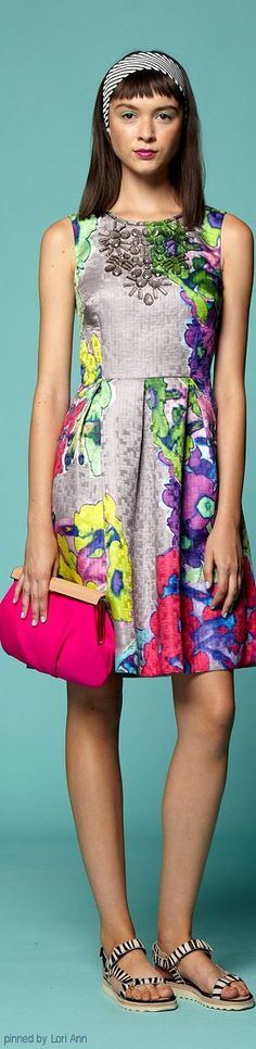 Color fashion Glam                                        Trina Turk Spring 2015 RTW