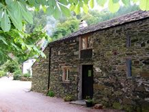 A Camping Barn, Self-Catering Hayloft, Tea Garden, Woodland Trail and a Woodland Display all to be found at Low Bridge End Farm, Lake District. Lake District Camping, Catering, Woodland, Trail, Bridge, Barn, House Styles, Plants, Home Decor