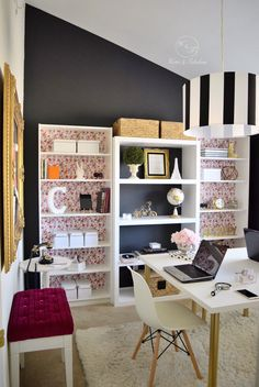A Harmonious Home Office You'll Never Want to Leave