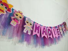 Lol Dolls banner Tassel Garland, baby dolls cake smatch ,cute dolls birthday party, Lol Dolls tulle birthday garland, ideas for birthday Baby Doll Cake, Lol Doll Cake, Baby Dolls, Cake Baby, Doll Cakes, 6th Birthday Parties, Birthday Diy, Cake Birthday, Birthday Ideas