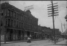 710 Olive Street (at or near  N. 7th Street), circa 1911 St. Louis. Note: Greenfield Clothing Company sign at top of building that helped identify the location. Photo from the private collection of Scott K. Williams, Florissant, Mo.  http://www.usgennet.org/usa/mo/county/stlouis/700-olivestreet.jpg