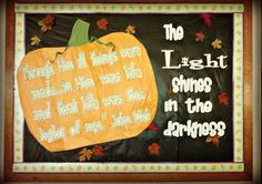 Livin' Life Oddly: Fall Bulletin Board Idea