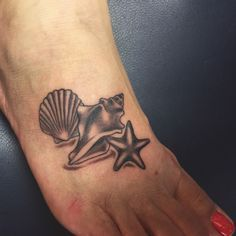 sea shell tattoo cover ups - Google Search