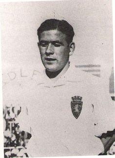 """Primitivo Villacampa """"Primo"""".Delantero 7 temporadas en el #realzaragoza 28 goles. Uno de los miticos """"Alifantes"""""""