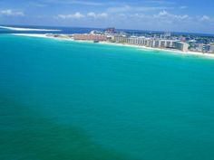 Parasailing in Destin Flordia. I did this last spring break and it was beautiful!