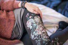 Leggings, Floral Tie, Photoshoot, Fashion, Yoga Clothing, Floral Lace, Photo Shoot, Moda, Fasion