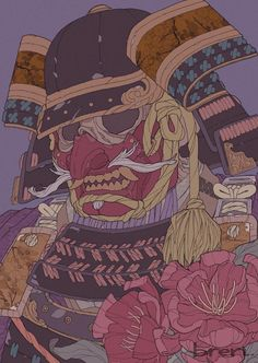 Samurai Drawing, Samurai Anime, Samurai Artwork, Japanese Art Modern, Japanese Drawings, Japanese Artwork, Japanese Art Samurai, Samurai Concept, Japon Illustration
