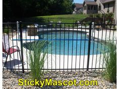 Gorgeous  Aluminum Fence Supply In Virginia1